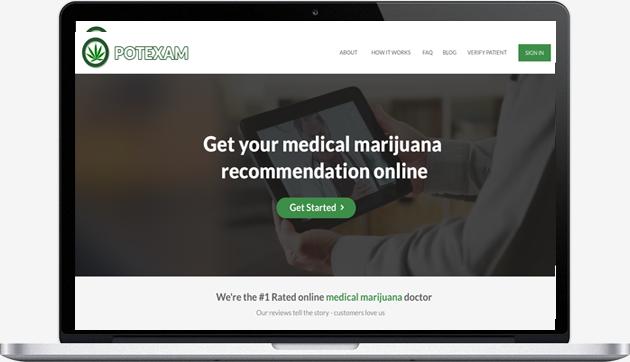 Get your medical marijuana recommendation online